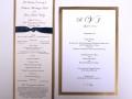 Wedding Program & Menu