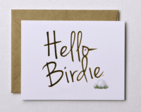 Hello Birdie Stationery