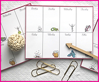NEW! Weekly Planner Pads