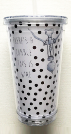 There's a Chance - Golf Tumbler