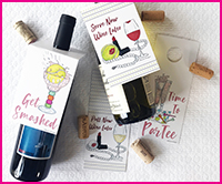 NEW! Bottle Tags